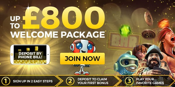 Play at MobileWins Phone Bill Casino