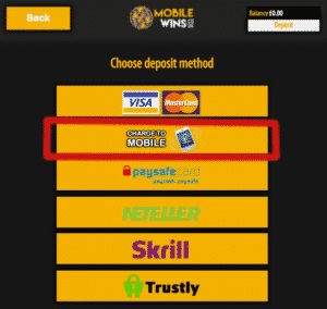Pay By Mobile Casino Sites - Charge to Mobile