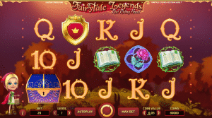Play Mobile Slots such as FairyTale Legends