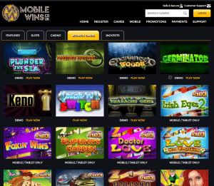 MobileWins - Mobile Scratch Cards category