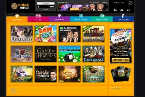 NetEnt Casino - MobileWins Lobby