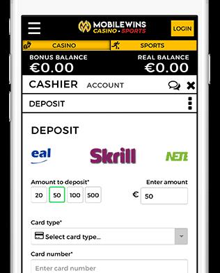 Skrill Option - Skrill Casino