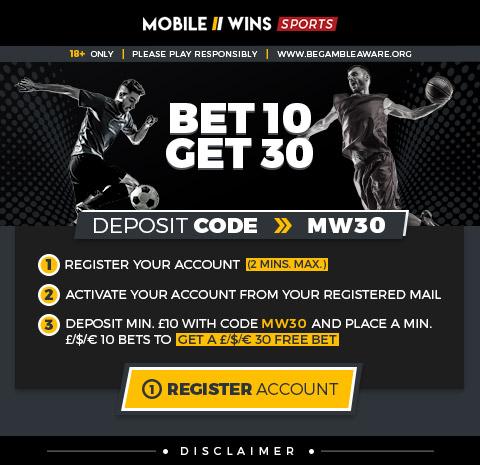 Bet 10 Get 30