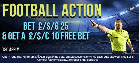 GET YOUR £10 FREE BET