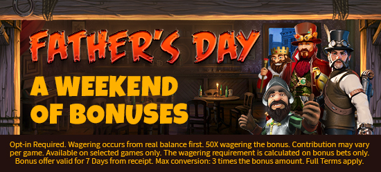 Celebrate All Weekend with Up to £/$/€1