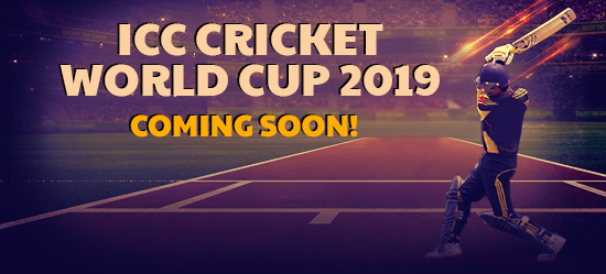 Enjoy a £/$/€5 FREE BET on the ICC World Cup